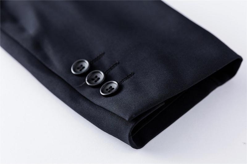 Tian Qiong Jakcet Pant Tie Men Formal Business Suit Brand Design Two Button Slim Fit Dress
